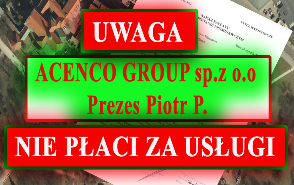 Acenco Group Sp. z o. o. PIOTR P.