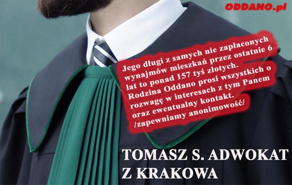 Adwokat Tomasz